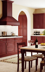 K-Cherry Glaze Kitchen Cabinets